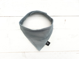 "Bandana Bib ""Hydrofiel"" Dusty mint"