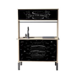 """Ikea Duktig keukensticker """" versie 1"""
