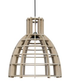 "De Lingehof  lamp ""Cone"" Naturel"
