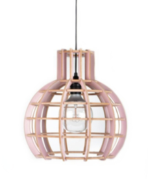 """De Lingehof lamp """"Globe"""" Oud Roze"""