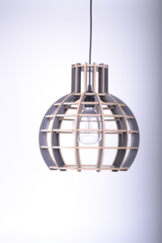 """De Lingehof lamp """"Globe"""" Grey"""