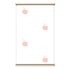 "Behang ""Pink Apples"""