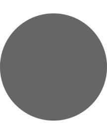 """Vloermat """"Graniet grijs"""" Rond"""
