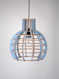 "De Lingehof lamp ""Globe"" Blauw"