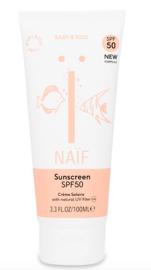"Naïf ""Natuurlijke zonnebrandcrème baby&kids"" SPF50"