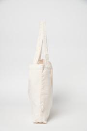 """Mom bag """"Old white rib"""""""