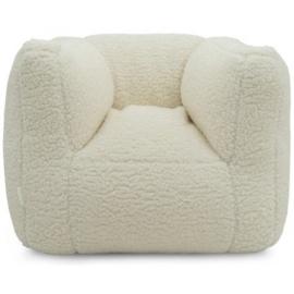 "Kinderfauteuil Teddy ""Cream White"" Beanbag"