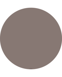 """Vloermat """"Taupe"""" Rond"""