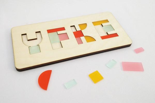 "CRE8 ""Naam"" puzzel"