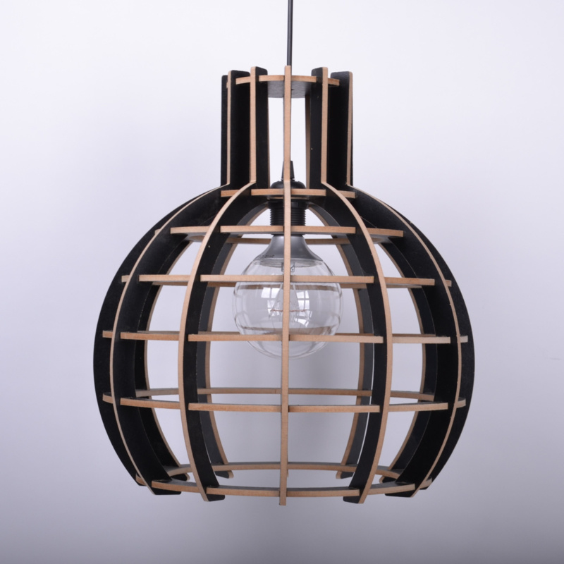 "De Lingehof Lamp ""Globe"" Zwart"