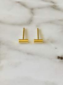 Bar oorbel rond tiny 5mm