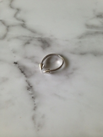 Ring 'spike' (sterling zilver 925)