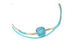 Armbandje Casa de Chi tuquoise