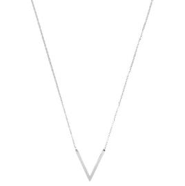 Ketting V-shape (zilver)