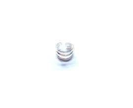 Oorklip drie ringetjes zilver (PER STUK)