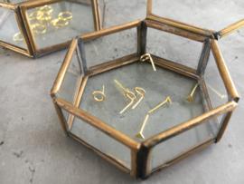 Oorknopje stud open cirkel 5 en 6mm (PER STUK)