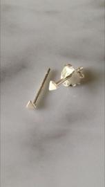 Oorknopje mini driehoek (2 mm) (PER STUK)