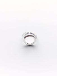 Ring open cirkel (sterling zilver 925)