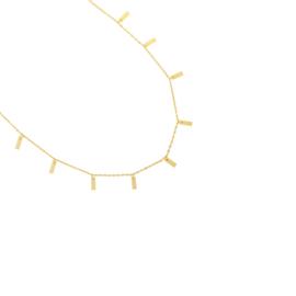Ketting mini bar (goud)