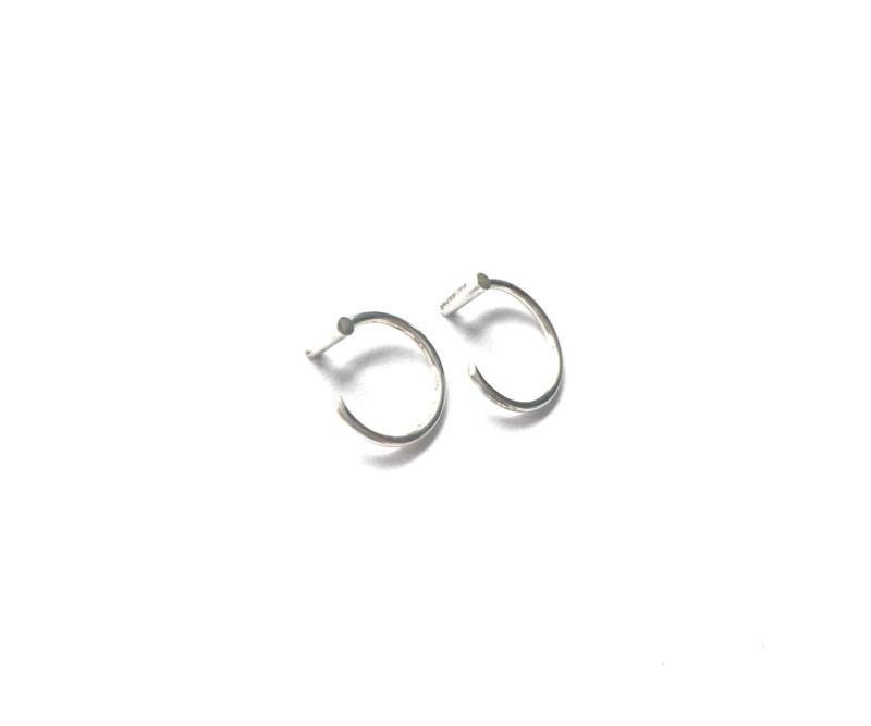 Earhooks bar (sterling zilver 925)