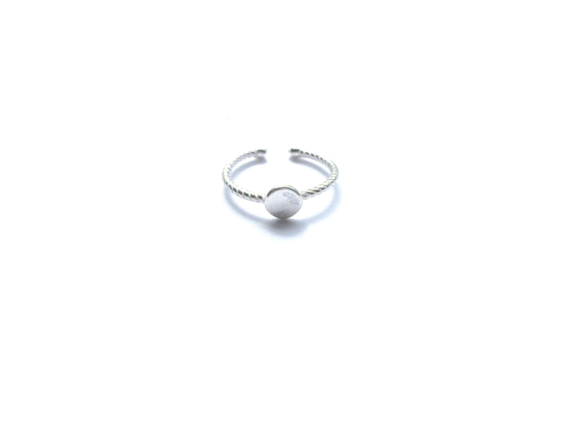 Ring cirkel (sterling zilver 925)