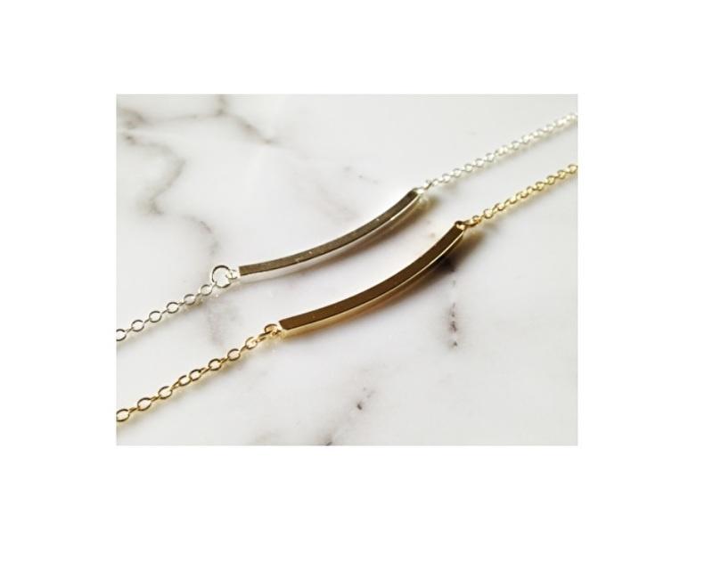 Armband curved 'bar'