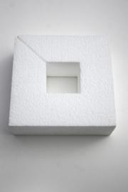 Styropor vierkant 15x15 opening