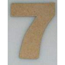 Paper Shape mini cijfers ± 9.5 nr. 7
