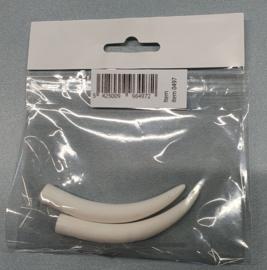 Olifant tand set L 9 cm