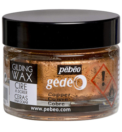 Gilding Wax Pebeo	Copper 30 ml
