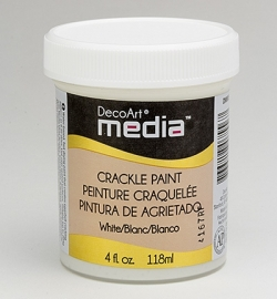 Crackle Paint White 118 ml.