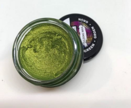 Gilding Wax -metallic groen 20 ml.