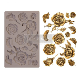 Fragrant Roses 5x8 Inch Mould