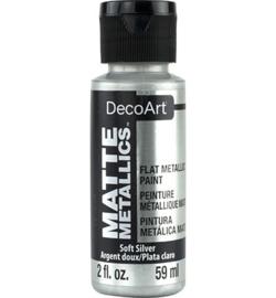 Matte Metallics Soft Silver