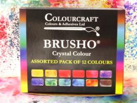 Brusho assortiment pakketten