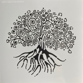 Lifetree Stencil 30 x 30 cm