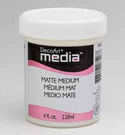 Matte Medium Clear 118 ml.
