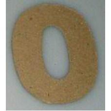 Paper Shape mini cijfers ± 9.5 nr. 0