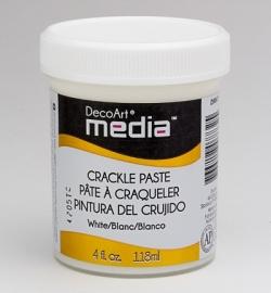 Crackle Paste White 118 ml.