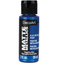 Matte Metallics Sapphire Blue