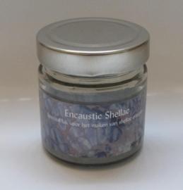 Shellac Zilver 100 gram