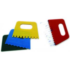 Verfkrabber Plastic set 4 st