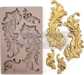 Baroque Swirls 5x8 Inch Mould