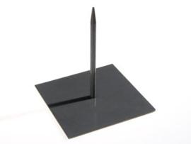 Standaard zwart 18 x 18 cm