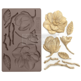 Winter Blooms 5x8 Inch Mould