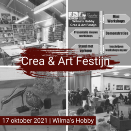 Wilma's Hobby Crea & Art Festijn 2021