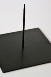 Metalen Sokkel 25x25 cm - 1 pin