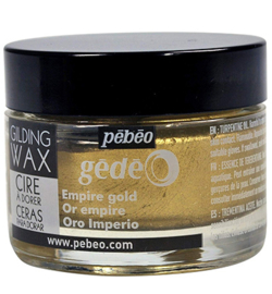 Gilding Wax  Pebeo Empire gold 30 ml