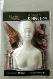 African lady halfvorm 11 cm