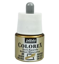 Pebeo Colorex 45ml – Rich Gold